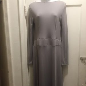 Gray Maxi Dress💥 Vivienne Tam. Size small.